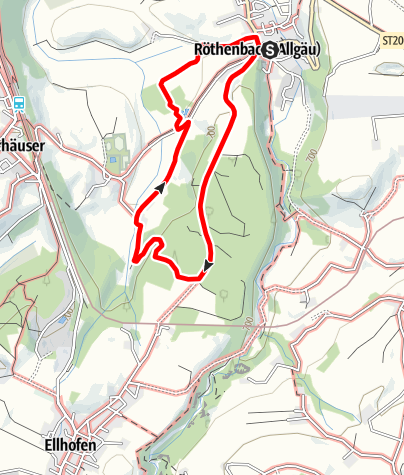 Karte / Röthenbach RW1 Rentershofen