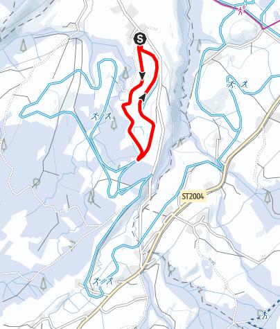 Karte / Weiler-Simmerberg R26 Kleine Obertrogener-Runde