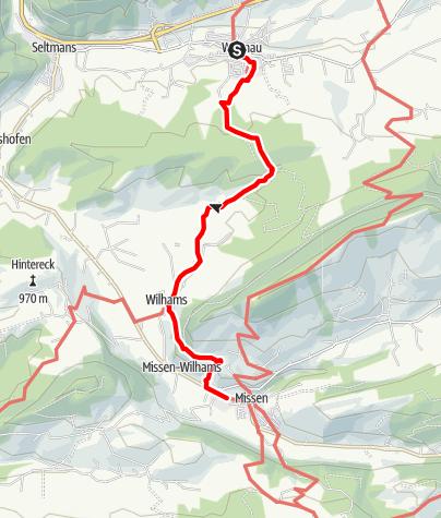 Karte / Carl Hirnbeinweg (Weitnau-Missen) (Missen-Weitnau)