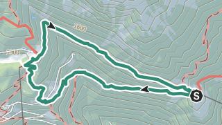 Cartina / Sulla via alpina a Velloi