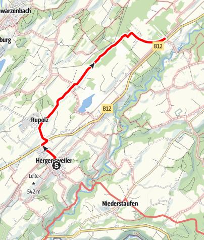 Karte / Hergensweiler R1 Degermooslätsche - Wanderweg