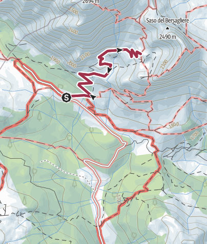 Cartina / 24 RIFUGIO CALVI - Sappada