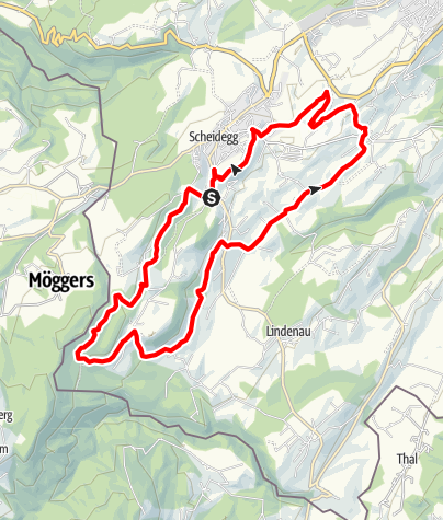 Karte / Scheidegg R9