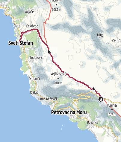 Map / Ogradenica Montenegro 15 Apr 2018 09:49:22
