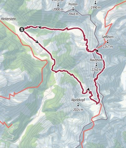 Karte / Schrecksee