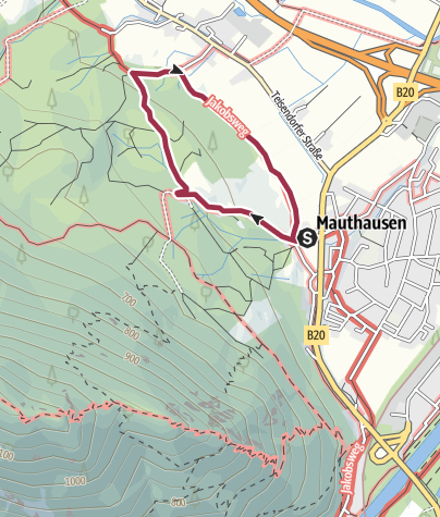 Karte / Natur- und kulturhistorischer Wanderpfad