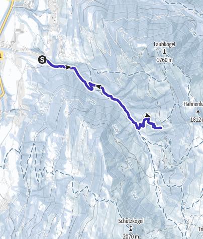 Karte / Zur Kelchalm bei Aurach