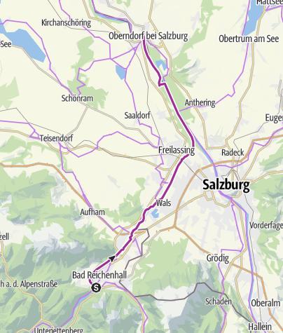 Karte / Rad: Familien-Radweg