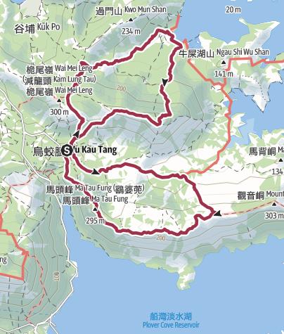 Map / half東北縱走2017試路