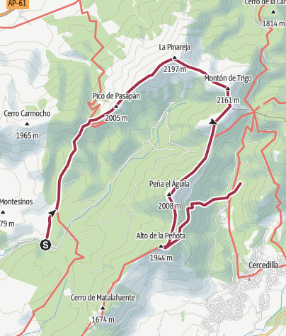 Map / Integral del Rio Moros_31 Ene 2015