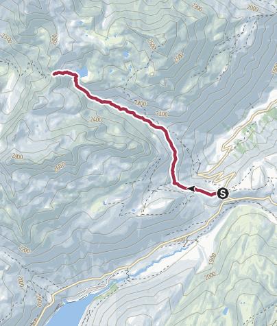 Map / col de la Croix