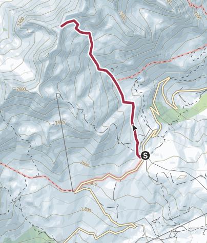 Map / Col de la Flachère