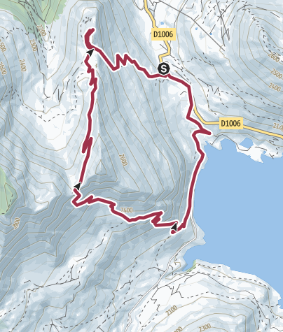Map / Pas de la Beccia