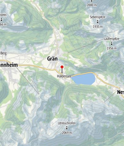 Karte / Haus Alpina