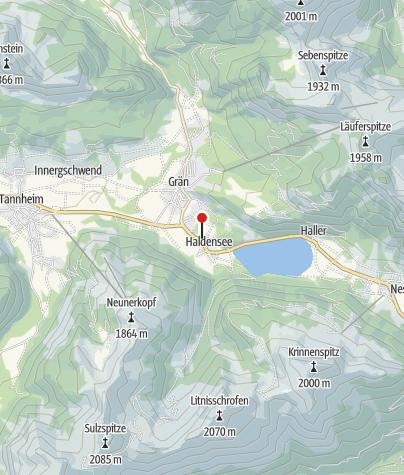 Karte / Landhaus Aggenstein