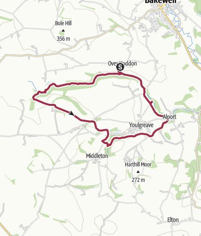 Map / Lathkill Dale Loop