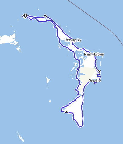 Map / Abaco Island Loop