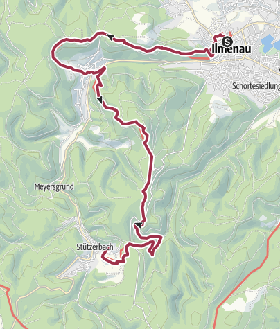Karte / Goethewanderweg