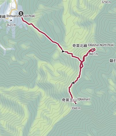 Map / 奇萊主北1040324