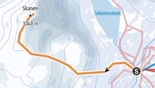 Mapa / Skorgedalsskarven