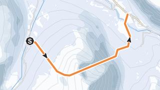 Map / Romsdalen Hurrungen Guroskaret