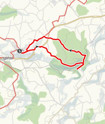 Karte / Argenbühl - Maleichenrunde Nr. 6
