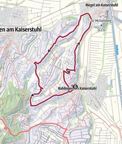 Karte / Der Winzerweg