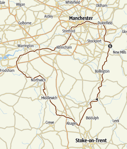 Map / Cheshire Ring Canal