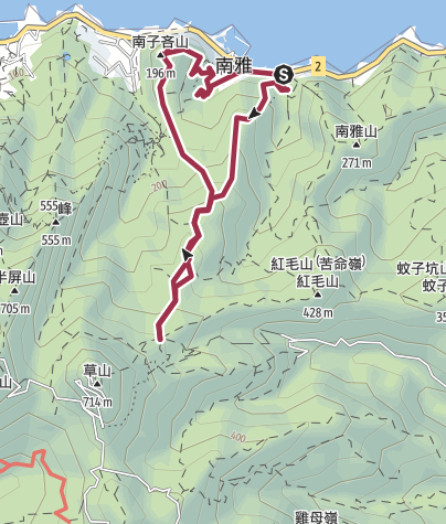 Map / 南子吝山