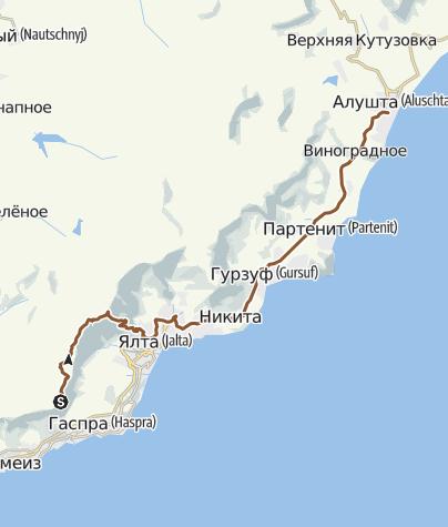 Map / aipetri-iograf-yalta-alushta