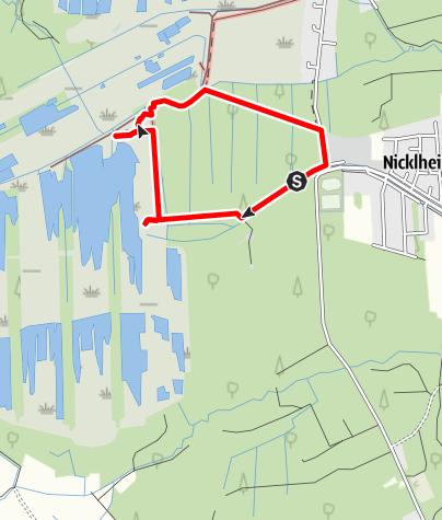 Karte / Erlebniswanderung Moorstation Nicklheim