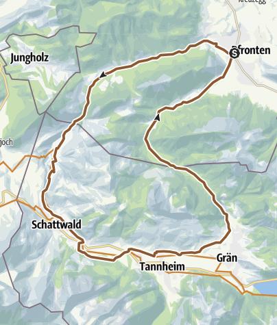 Karte / Die Einsteinrunde