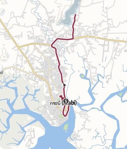 Map / Krabi Town Tour