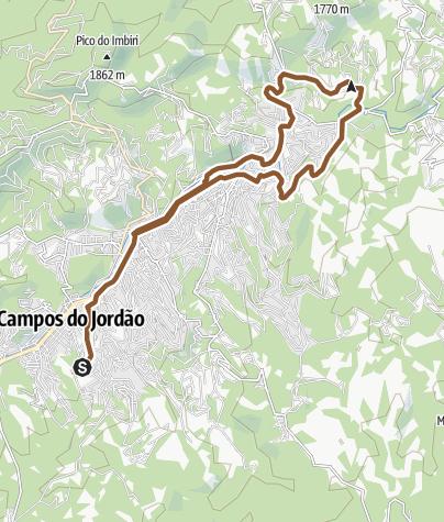Map / Trilha teste app