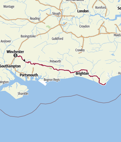 Map / South Downs Way