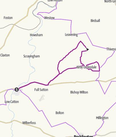 Map / Stamford Bridge _ Uncleby circular