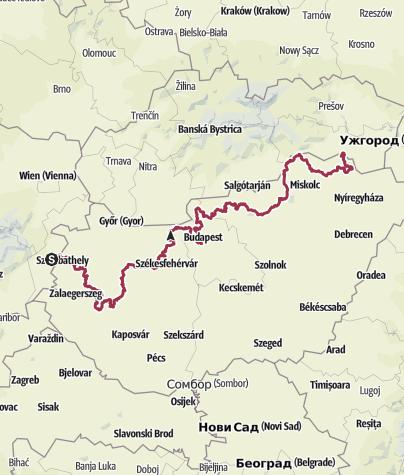 Mapa / Országos Kéktúra