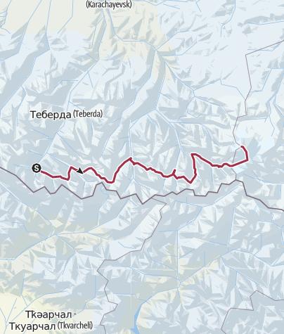 Map / RU - Kavkaz - Dombai-Elbrus proposal
