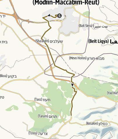 Mapa / מודיעין לאשתאול