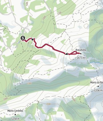 Map / Morro Araçatuba