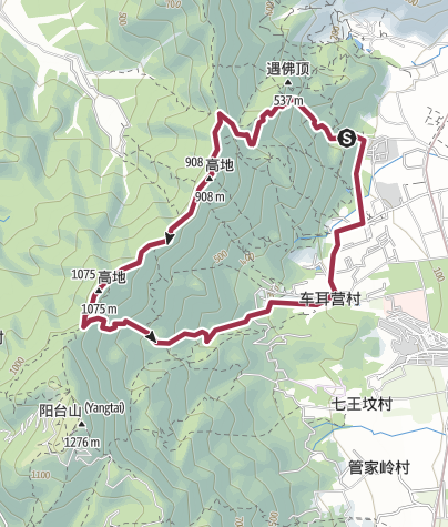 Map / Fenghuangling