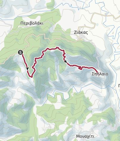 Map / Orliakas-Spileo Grevena