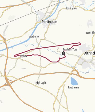 Map / Dunham Massey - Lymm round