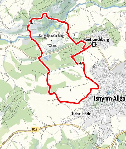 Karte / Argenrunde