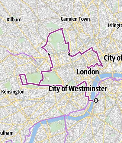 Map / London Garden City