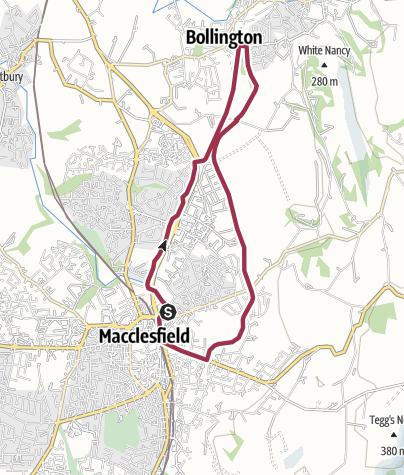 Map / Macclesfield Bollington Circular