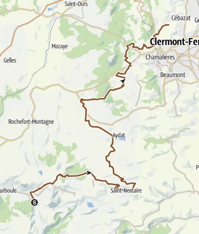Map / Transvolcanique 2014: Retour