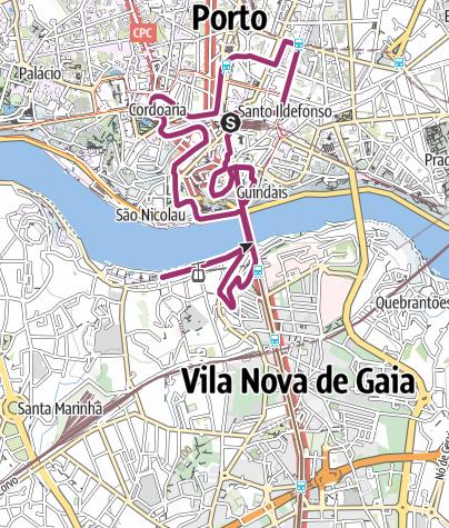 Porto Portugal Karte.Stadtrundgang Durch Porto Stadtrundgang Outdooractive Com