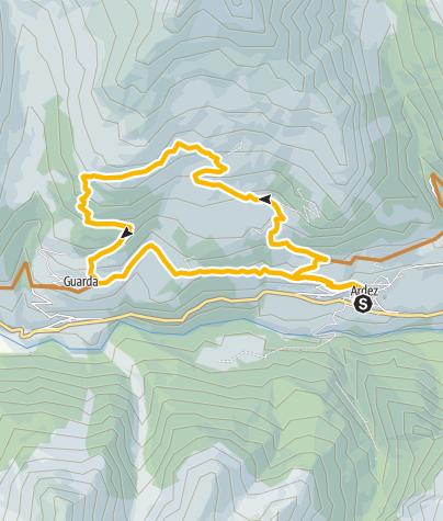 Karte / Runda da Munt d'Ardez