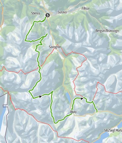 Karte / Viadi Surses